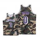 Maillots Mitchell & Ness Lakers de Los Angeles ^ 0 Kyle Kuzma Woodland Camo - Camo