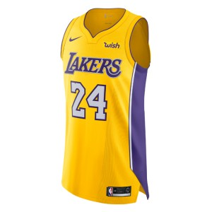 Kobe Bryant icône maillot authentique