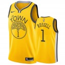 Golden State Warriors D'Angelo Russell &1 A gagné maillot hommes
