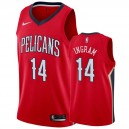 Brandon Ingram New Orleans Pelicans &14 2019-20 Déclaration Maillot Hommes - Rouge