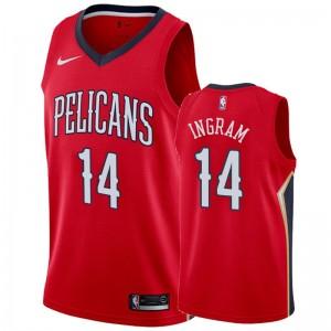Brandon Ingram New Orleans Pelicans &14 2019-20 Déclaration Maillot Hommes - Rouge