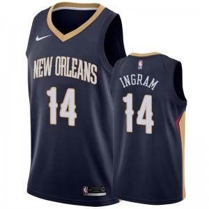 Brandon Ingram New Orleans Pelicans &14 2019-20 Icon Hommes Maillot - Marine