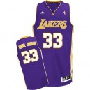 Jersey violet Abdul-Jabbar NBA Swingman masculine - Adidas Los Angeles Lakers & route 33