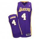 Jersey violet de NBA Byron Scott authentiques hommes - Adidas Los Angeles Lakers & 4 Road